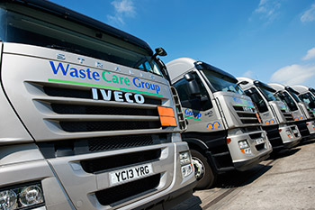WasteCare lorry