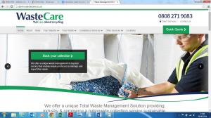 Wastecare new website