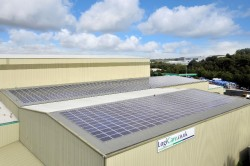 Wastecare solar panels