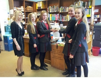 Pupils at New Hall School have taken up the recycling ethos
