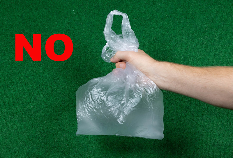 Don't use plastic bags - wuestenigel