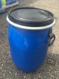 Recon 30ltr plastic clip top drum