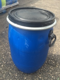 Recon 60ltr plastic clip top drum