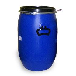 Clip top plastic drum