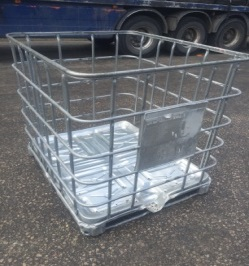 1000ltr IBC outer cage.